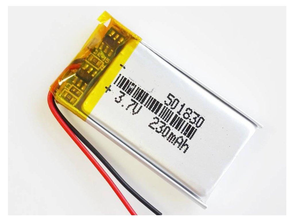 wholesale 3 7v 230mah 501830 lithium polymer