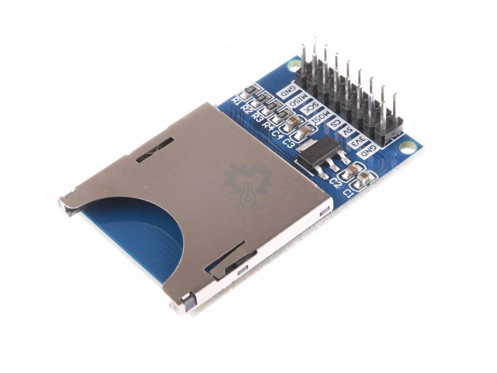 SD Card modul SPI