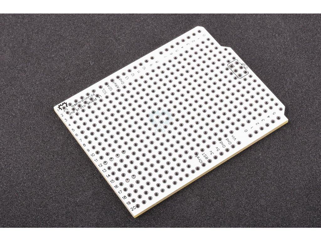 LaskaKit Arduino Uno prototype Shield,  prototypová DPS