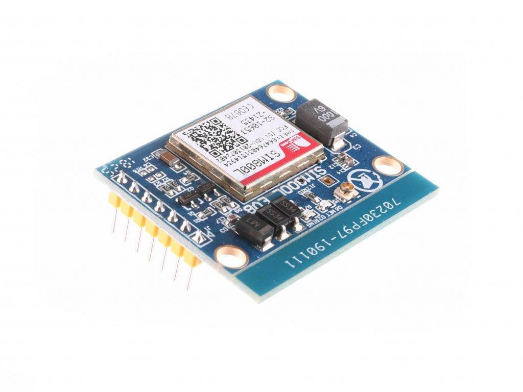 Miniaturní SIM800L V2.0 5V GPRS GSM Module, MicroSIM