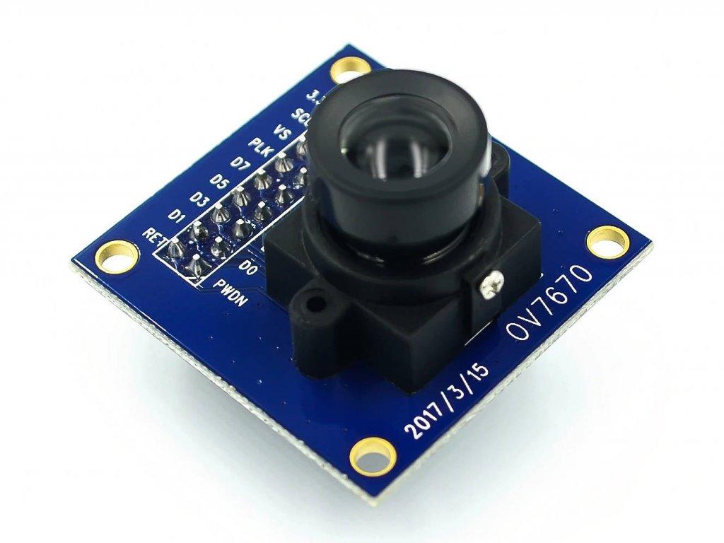 CMOS VGA kamera OV7670 640x480  bez paměti