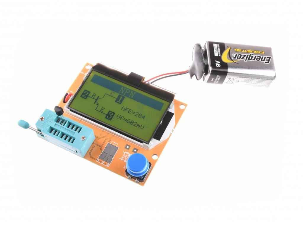 LCR-T4 Automatický tester měřič RLC , ESR a polovodičových součástek