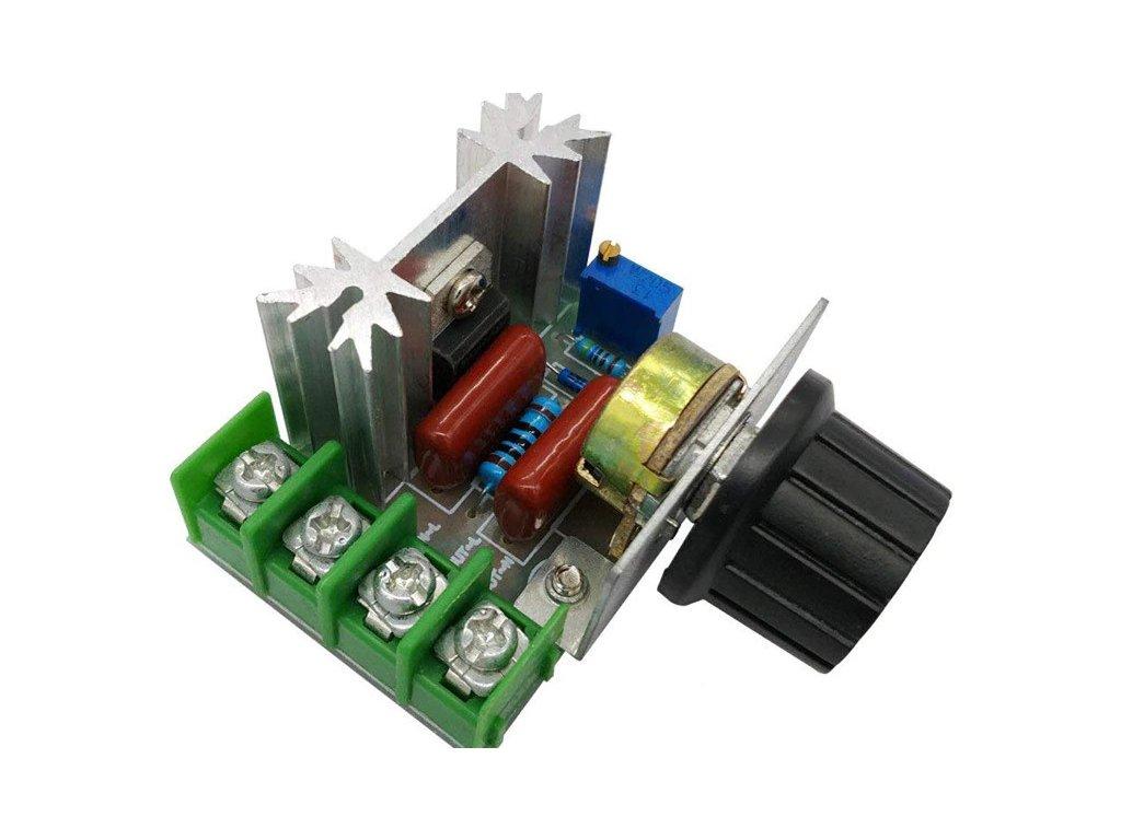 PWM regulátor otáček AC motoru 220V 2000W stmívač