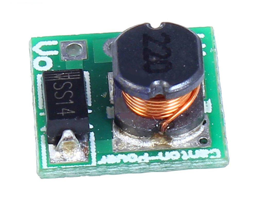 Step-up boost měnič s ME2108 3.3V 480mA