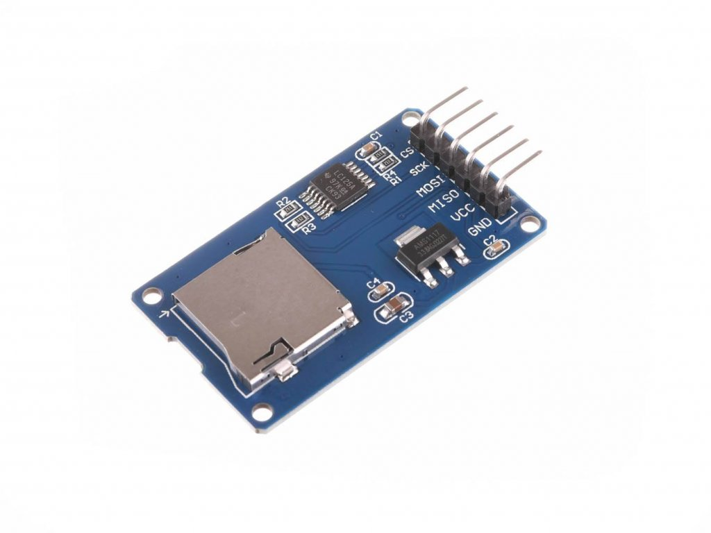 microSD Card modul SPI