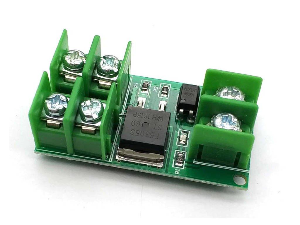 PWM MOSFET modul F5305S 35VDC 5A, spíná plus