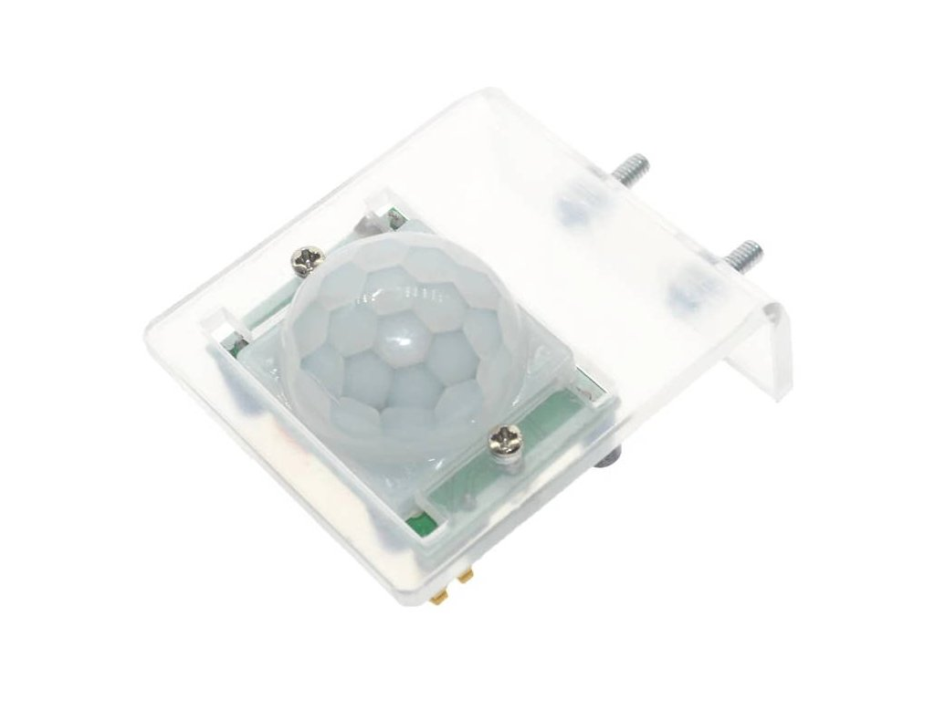 Transparentní držák na PIR HC-SR501