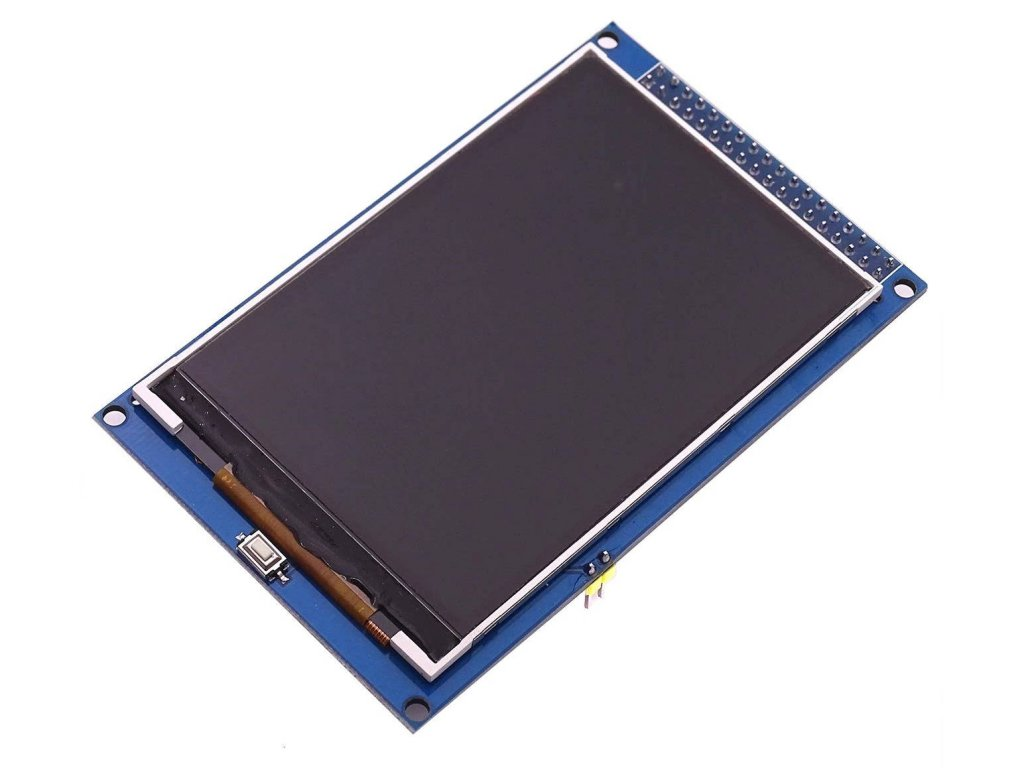 "3.5"" 320x480 TFT displej, ILI9486, Arduino Mega shield"