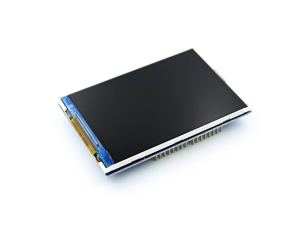 "3.5"" 320x480 TFT displej, ILI9486, Arduino Uno shield"