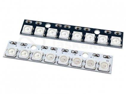 modul 8x 5050 rgb led neopixel