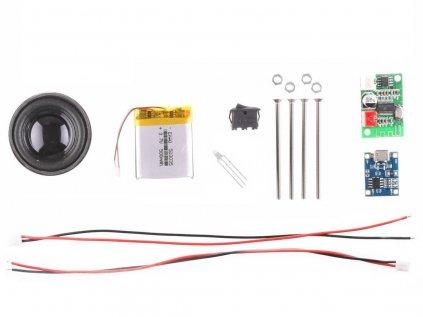 LaskaKit Sound DIY 3W Bluetooth Reproduktor