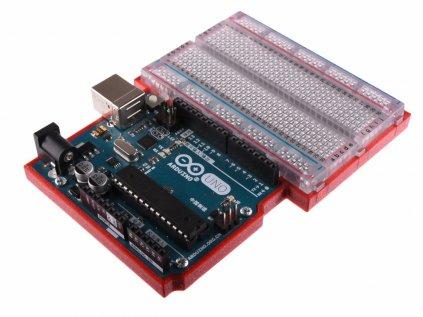 LaskaKit Arduino Uno Breadboard 400 Holder