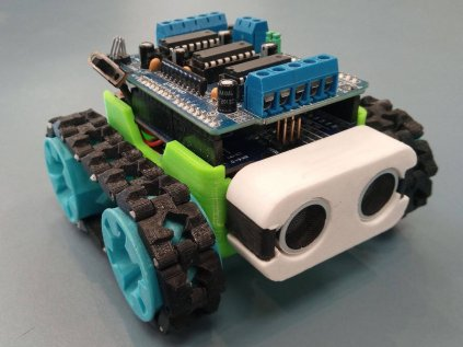 LaskaKit sada součástek pro SMARS modular robot