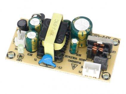 DK112  napájecí 230V AC-DC zdroj 12V/1.5A, izolovaný