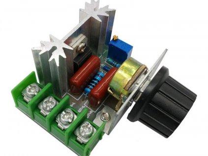 Regulátor otáček AC motoru 220V 2000W stmívač