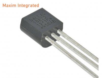 Maxim Integrated DS18B20+ orig. digitální čidlo teploty TO-92