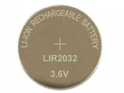 Lir2032 Lithium Ion Coin Cell
