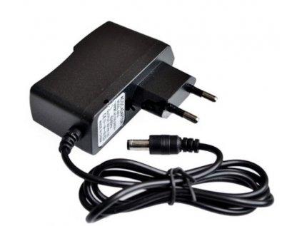 Napájecí adaptér síťový 1000mA 5,5/2,1 mm 9V