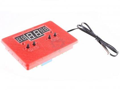 LaskaKit  krabička pro digitální termostat W1401 do panelu