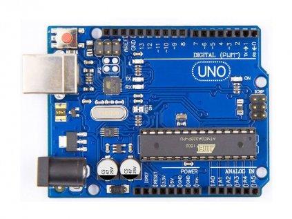 Arduino UNO R3, ATmega328P, Precizní klon
