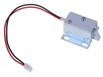 Elektromagnetický zámek 99-S12 pro dveře 12VDC 0.6A