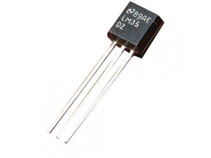 Texas Instruments LM35DZ analogové teplotní čidlo, TO-92