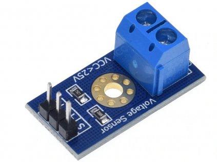 Analogový senzor DC napětí, VDC 0-25V