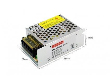 LYONZG S-25-5 modulový napájecí 230V AC-DC zdroj 5V/5A 25W