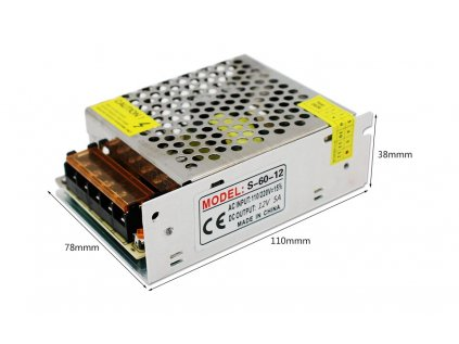 LYONZG S-30-5 modulový napájecí 230V AC-DC zdroj 5V/6A 30W