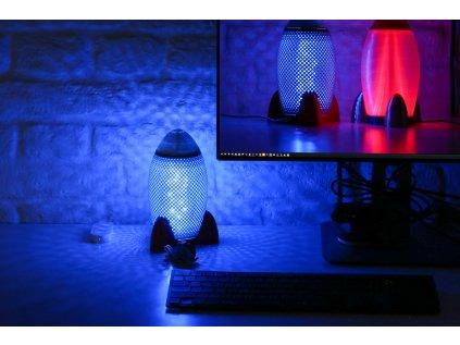 LaskaKit Printednest Rocket Lamp kit