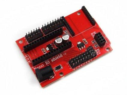 Arduino Nano IO a Bezdrátový Shield