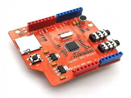 Shield VS1053B MP3 s TF Čtečkou pro Arduino Uno