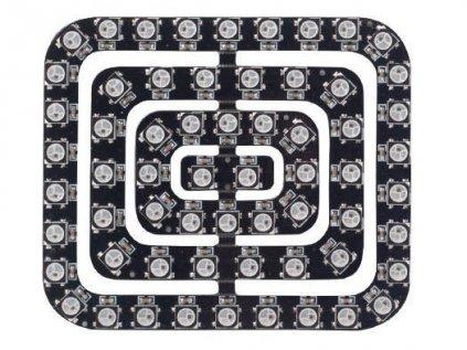 62x inteligentní RGB LED NeoPixel obdélník, WS2812B, 5050, 5V