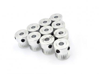 POWGE  Řemenice GT2, 20 zubů, vnitřní průměr 5mm, pro řemen 6mm