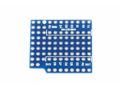 WeMos D1 mini prototype shield